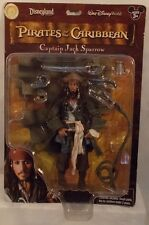 "Pirates Of The Caribbean Disneyland Resort Exclusive 7"" Captain Jack Sparrow MOC"