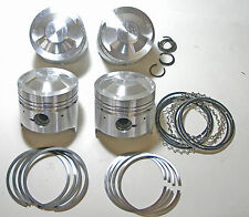 Set PISTONE FIAT 124 SPORT/SPIDER, LANCIA BETA, 131, High Performance Pistons
