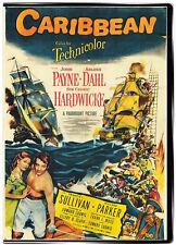 Caribbean 1952 DVD John Payne, Arlene Dahl, Cedric Hardwicke