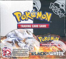 POKEMON BLACK & WHITE BOOSTER BOX BLOWOUT CARDS