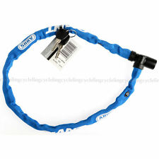 GIANT Bike Bicycle Lock Waterproof Nylon And Steel Cable Lock 600mm Blue New