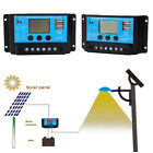 10A/20A PWM Solar Panel Battery Regulator Charge Controller 12V 24V Auto USB LCD