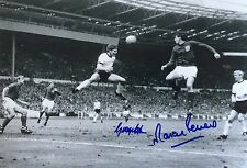 ENGLAND 1966 WORLD CUP SIGNED  GEORGE COHEN AND MARTIN PETERS 50TH ANNIVERSARY