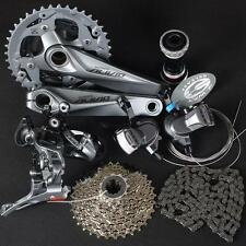 SHIMANO Mountain Bike ALIVIO M4000 Group Set 3x9/27 Speed 7 pcs, MTB Group Set