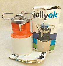 Vintage JOLLYOK Butane Gaz CAMP HIKING STOVE Instant Light In Original Box VGC