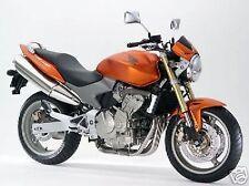 Honda Touch Up Brush Paint Bombay Orange Hornet YR254M 2 Bottle System