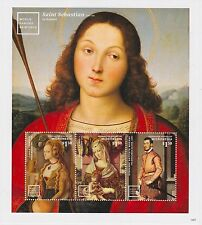 Micronesia - Art, Paintings: St Sebastian by Raphael, 2014 - Sheetlet of 3 MNH