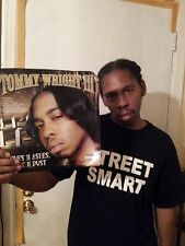 "TOMMY WRIGHT III ASHES TO ASHES,DUST TO DUST""12 INCH""POSTER/MEMPHIS RAP"