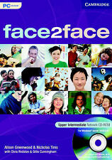face2face Upper Intermediate Network CD-ROM, Cunningham, Gillie, Redston, Chris,