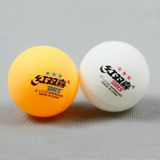 100PCS●DHS● 40mm● Double Happiness ●3-STAR TABLE TENNIS BALL ● MIXED COLOR