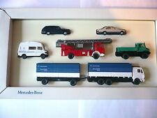 Wiking mercedes-benz set James Cook bomberos Unimog Express werbemodell 1:87