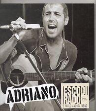 ADRIANO CELENTANO Libro + CD Esco di rado ABBINAM.Corriere della sera .2 + BOOK