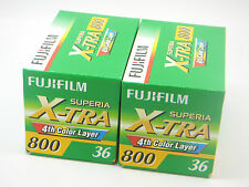 2 x FUJI COLOR SUPERIA 800 35mm 36 Exp CHEAP COLOUR FILM by 1st CLASS ROYAL MAIL
