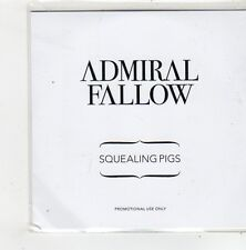 (FN231) Admiral Fallow, Squealing Pigs - 2010 DJ CD