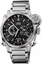 Oris BC4 Flight Timer Chronograph Stainless Steel Watch 690-7615-4154MB