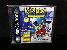 Rare Factory Sealed Y-Fold KLONOA: Door to Phantomile NEW PlayStation 1 PS1 1997