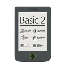 "Brand NEW Pocketbook Basic 2 B614 Grey 6"" E-ink Pearl E-Book Reader 1GHz CPU 4GB"