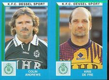 418 ANDREWS DE FRE BELGIQUE KFC.DESSEL SPORT STICKER FOOTBALL 2000 PANINI