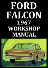 FORD FALCON 1967 WORKSHOP MANUAL
