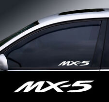 Mazda MX-5 Logo Window Decal Sticker Graphic *Colour Choice*