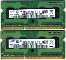 SODIMM Samsung 2x 2gb DDR3 PC3-10600 1333 Mhz SO-DIMM LAPTOP RAM COPPIA 4GB KIT
