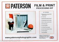 Paterson Photographic Darkroom Film And Print Processing Kit :  PTP 572  :