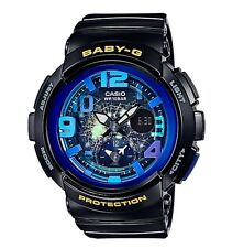 Casio Baby-G * BGA190GL-1B Dual Dial World Time Gloss Black for Women COD PayPal