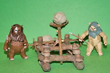 STAR WARS VINTAGE COLLECTION ROTJ EWOK CATAPULT K-MART EXCLUSIVE LOOSE COMPLETE