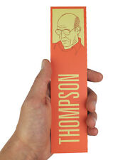 Hunter S Thompson Bookmark! fear and loathing, writer, gift, gonzo, rum diary