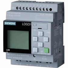 Siemens LOGO! 8 PLC 6ED10521FB000BA8 115V/230V/RELAY, 8 DI/4 DO MEM 400 BLOCKS