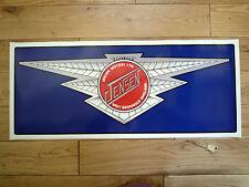 JENSEN Avec Motif Ailé Logo signe autocollant Large de Garage atelier