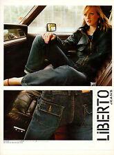 Publicité 2003  LIBERTO Jeans pret à porter vetement collection