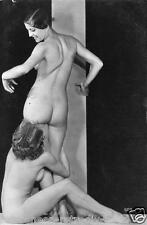 SEXY NUDE WOMEN VINTAGE BONDAGE FETISH FEMALE EROTIC ART BDSM  POSTCARD PHOTOS