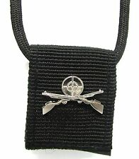 army chain dog tag israel defense forces cover black idf pin necklace sniper