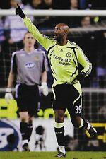 Football Photo NICOLAS ANELKA Chelsea 2007-08