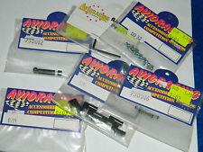 LOT de pièces AVIORACING RC PARTS 730086-0084-0032-0704-730082-072