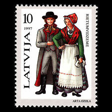 Latvia 1997 - Traditional Costumes - Sc 440 MNH
