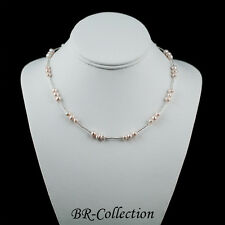 Freshwater Pearl Necklace - Light Pink