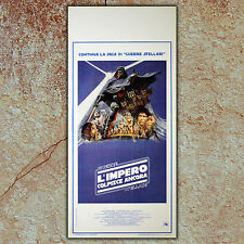 Original Poster Star Wars The Empire Strikes - L'Impero Colipisce Ancora 33x70