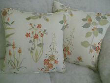 WILLOWBROOK BY JANE CHURCHILL 1 PAIR OF 45.7cm CUSHION COVERS - DOUBLE SIDED