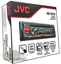 JVC KD-R370 CD/MP3/WMA/FM/AUX /Detachable Face Plate New Car Stereo JVC KDR370