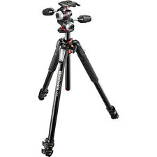 Manfrotto MK055XPRO3-3W Aluminum Tripod with 3-Way Pan/Tilt Head, EU Seller!NEW!