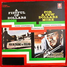 "A Fistful of Dollars  For A Few Dollars More PILPS 4060 12"" Vinyl LP RARE"