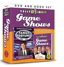 TELLY ADDICTS GAME SHOWS BOOK & INTERACTIVE DVD FAMILY FORTUNES GIFT SET