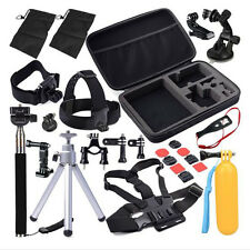 30in1 Head Chest Mount For GoPro Hero 2 3 3+ 4 SJ4000 Camera Accessories Set Kit