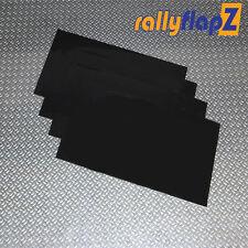 RallyflapZ Dimensione Universale Anteriore Parafanghi x 4 (450mm x 300mm) Nero 3mm PVC