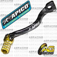 Apico Black Yellow Gear Pedal Lever Shifter For Suzuki RM 65 2004 Motocross