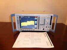Rohde & Schwarz FSP30 9 kHz to 30 GHz Spectrum Analyzer - CALIBRATED!