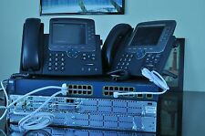 Cisco CCNA Voice Collaboration Lab Kit  210-060 CICD Cisco 2821,3560, CP-7970G