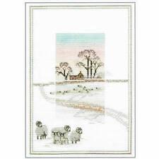 Derwentwater Designs Snowy Sheep Cross Stitch Kit
